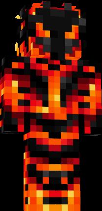 скины майнкрафт огненный маг #10