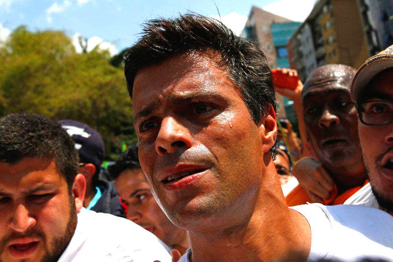 Leopoldo Lopez comunidado de prensa oficial