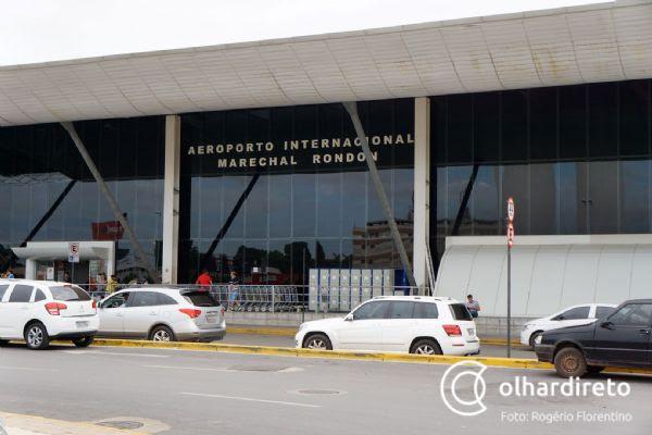 Secretário garante internacionalização do aeroporto até abril e afirma que problemas com ar foram resolvidos