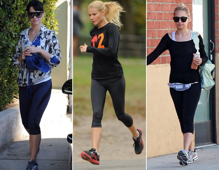Gwyneth Paltrow, Cameron Diaz And More Celebrities Sweat In Style (PHOTOS)