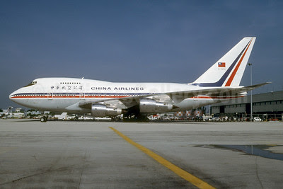 China Airlines Boeing 747SP-09 B-1862 (msn 21300) MIA (Bruce Drum). Image: 102868.