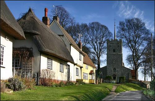 Wendens Ambo Village, Essex, England, (not Birch, Essex, Eng)