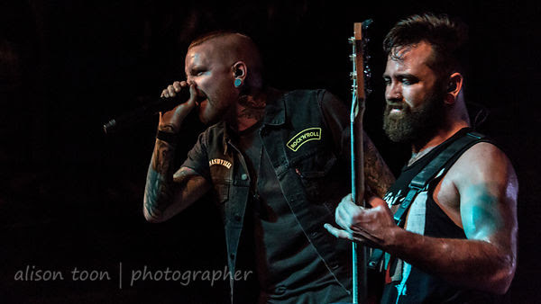 Matty Mullins and Cory Elder, Memphis May Fire