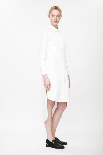COS Graduated Shirt Dress