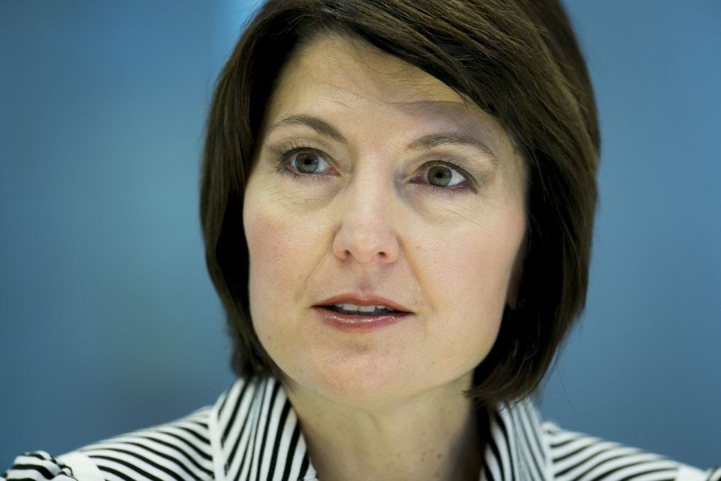 Representative Cathy McMorris Rodgers, a Republican from Washington, speaks during an interview in New York, U.S., on Friday, March 28, 2014. (Scott Eells/Bloomberg)