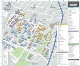 Uofl Campus Map Uofl Campus Map | Color 2018