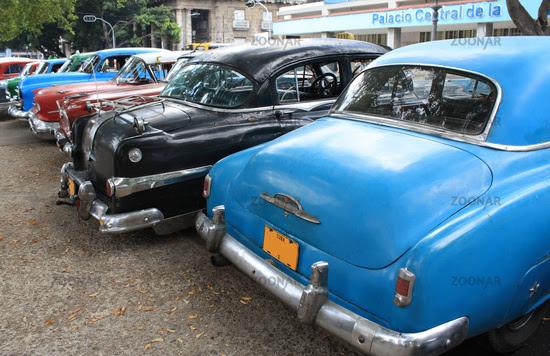 Vintage Cars in Havana, Cuba. Vintage Cars in Havana, Cuba