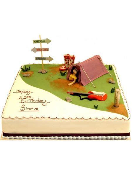 Music Festival Birthday Cake   Creative Adult Cakes