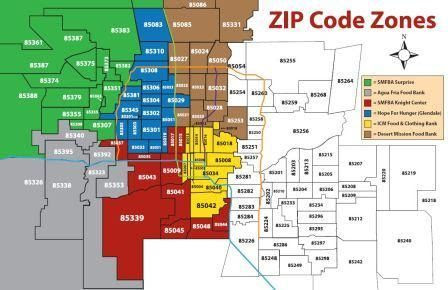 Map Of Tucson Arizona Zip Codes.Peoria Az Zip Code Map Time Zone Map
