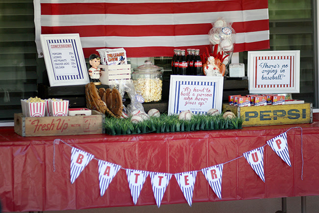 Baseball Theme Party Ideas Vintage Baseball Party
