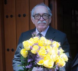 Gabriel Garcia Marquez en su último cumpleaños
