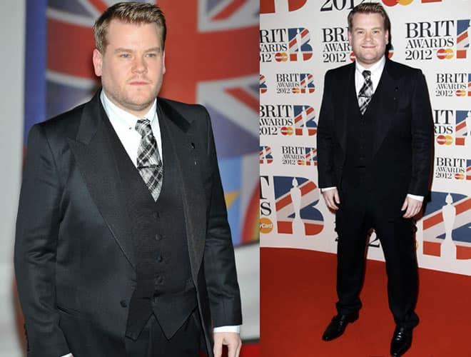 James Corden Brit Awards 2012 Red Carpet