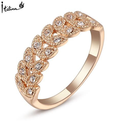 Brand TracysWing Rings for women Genuine Austrian Crystal