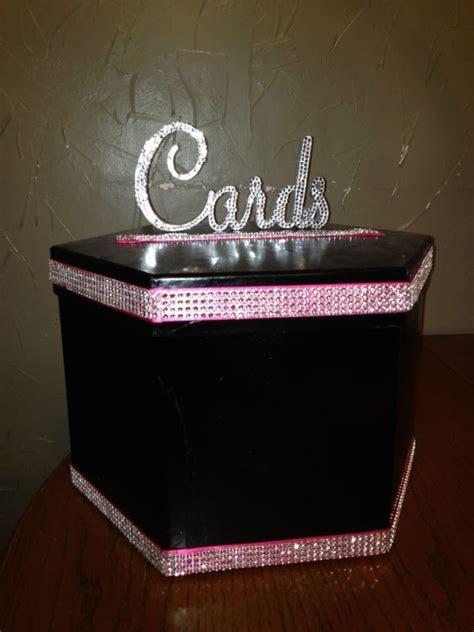 Cardbox and Bling Sign   Weddingbee Photo Gallery