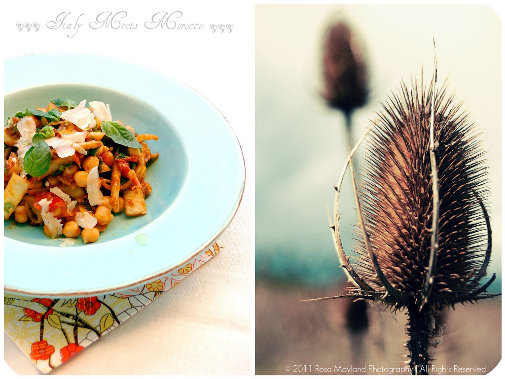 Chickpea Salad Picnik collage 5 bis