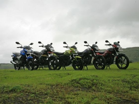 March 2014 two-wheeler sales report