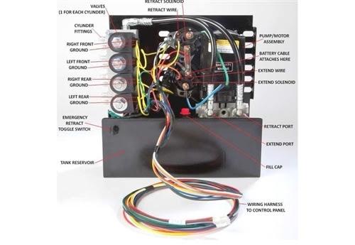 hydraulic leveling jacks wiring diagram image 7