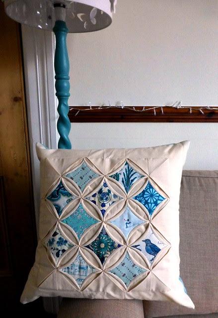 Brit Bee Secret Santa cushion swap Dec13 001
