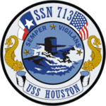 USS Houston SSN 713 Crest.png
