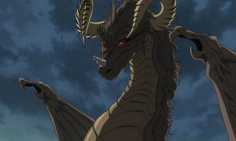 Check out these epic anime dragons, including Peterhausen, Ichiban Ushiro no Daimaou!