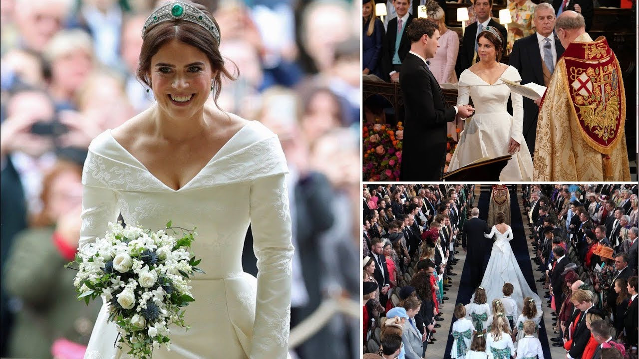 Beautiful BRITISH ROYAL BRIDES!!! From QUEEN MARY to PRINCESS EUGENIE - Princess Eugenie