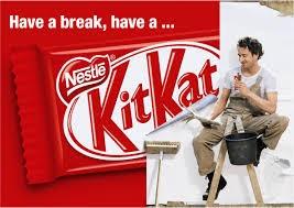 Berehat sebentar bersama Kit-Kat