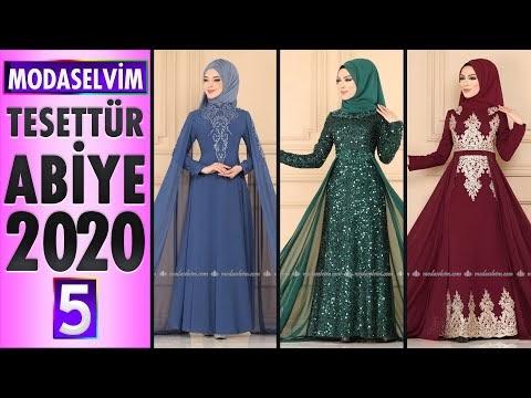 Modaselvim Abiye 2020 [5] | Modaselvim Tesettür Abiye Elbise Modelleri | Abendkleid - Evening Dress