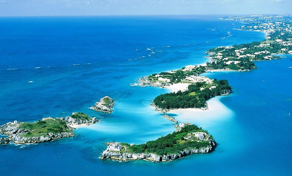 Bermudas One Hundred And Twenty Three 123 Present Islands