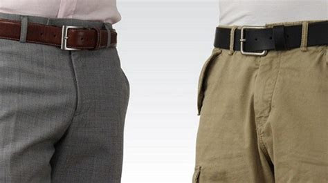 mens belt guide  belt rules  man