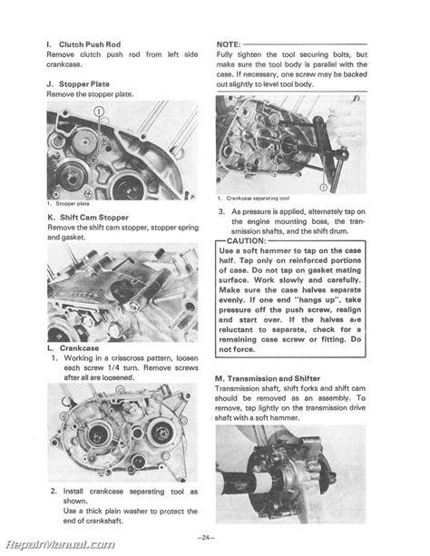 1978 Yamaha GT80E / EPA / MXE Motorcycle Service Manual