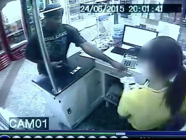 Dono de padaria é assaltado 67 vezes em sete anos, no Espírito Santo (Foto: Reprodução/ TV Gazeta)