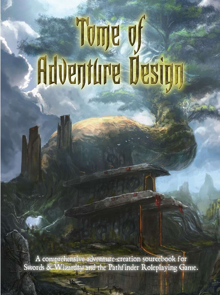 Tome of Adventure Design Cover