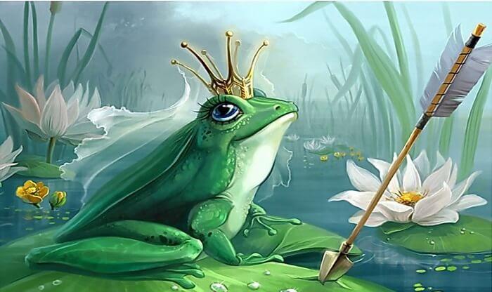 Kurbağa Prens Masalının özeti
