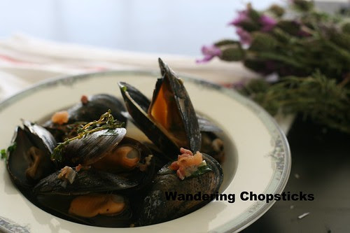 Moules Frites (Belgian Mussels with Fries) 2