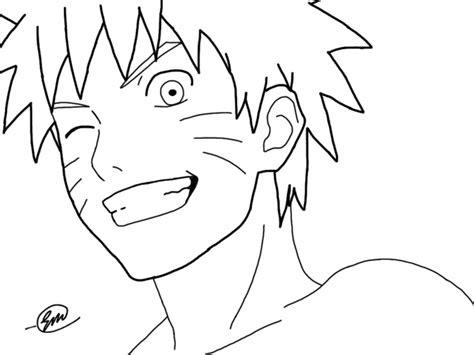 anime outline drawing  getdrawingscom