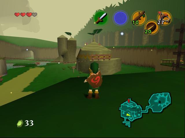 picture - Legend Of Zelda Ocarina Of Time Rom Gamecube