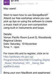 Creating digital music 101 - using GarageBand
