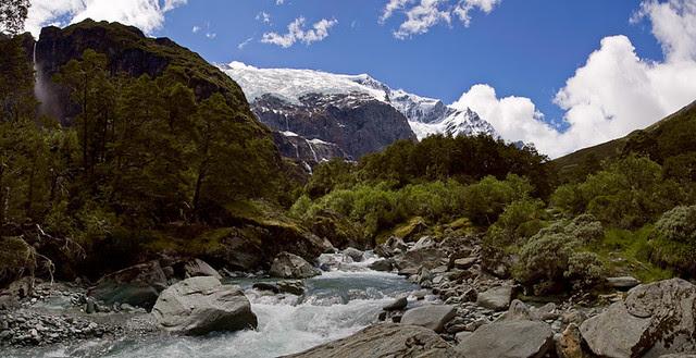 Glacial Stream Panorama