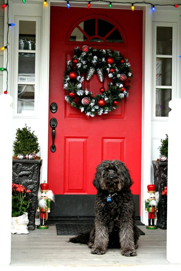 Holiday Porch- Simple Decorations for Christmas - Todays Creative Blog