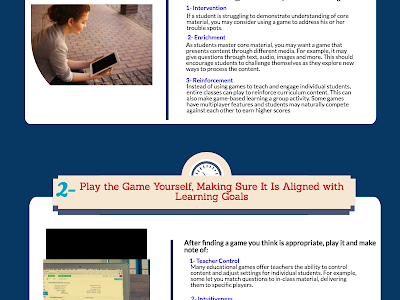 Some Important Tips to Help You Integrate Game-based Learning in Your Teaching