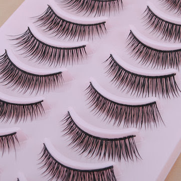 10 Pair Natural False Eyelashes Eye Lash Makeup 339 - US$4.55