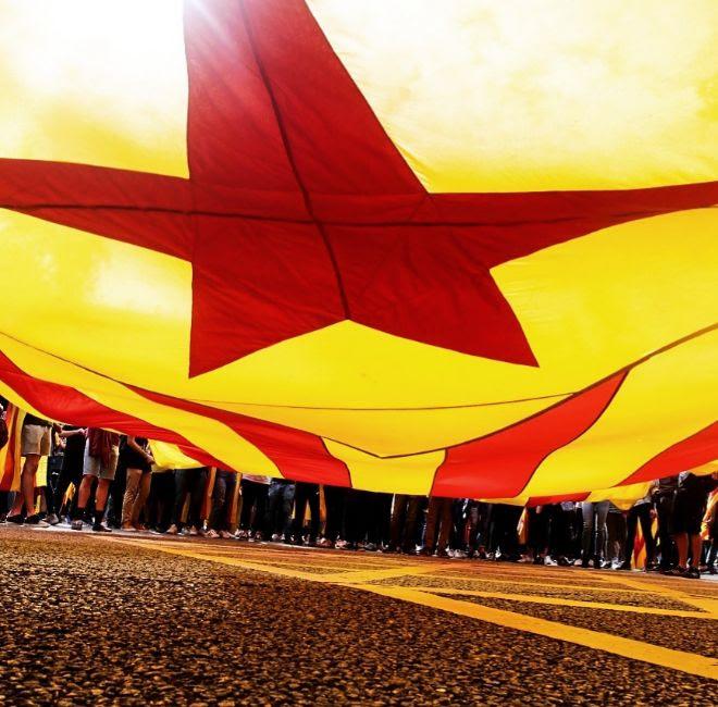 Imagini pentru huelga obrera cataluña