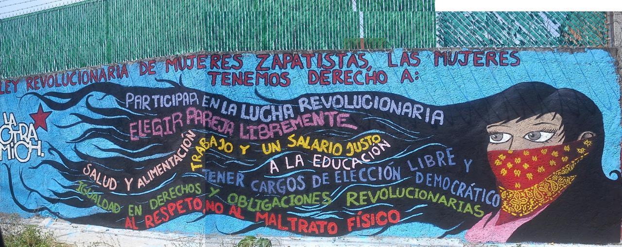 Resultado de imagen para EZLN murales