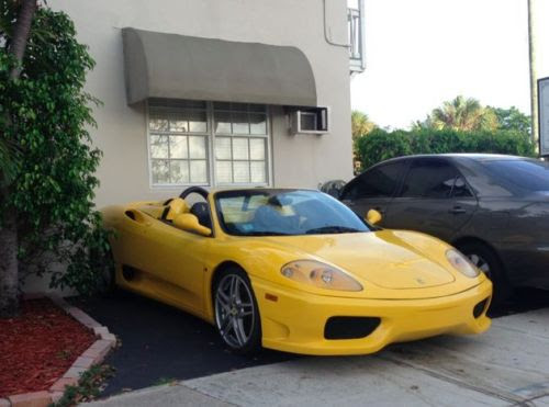 Purchase Used Ferrari 360 Spider 6 Speed Manual Challenge