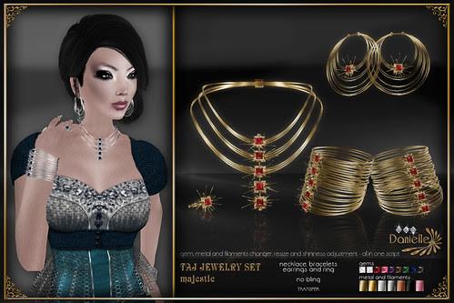 DANIELLE Taj Jewelry Set Majestic