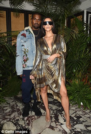 Despite the CCTV, after more than two weeks the detectives are no closer to catching those responsible for the heist, in which Ms Kardashian (pictured with Kanye West) says she had a gun pointed to her head, and was tied up and gagged