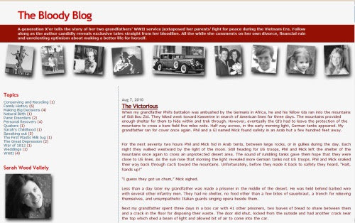 The Bloody Blog