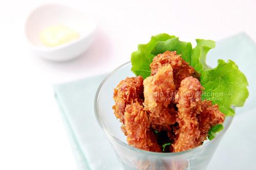 Corn Flakes Fried Chicken