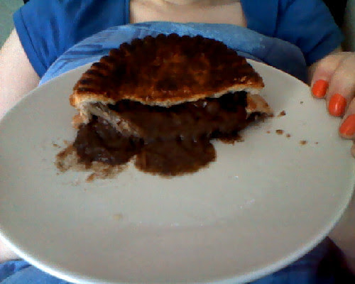 Tesco steak red onion pie review