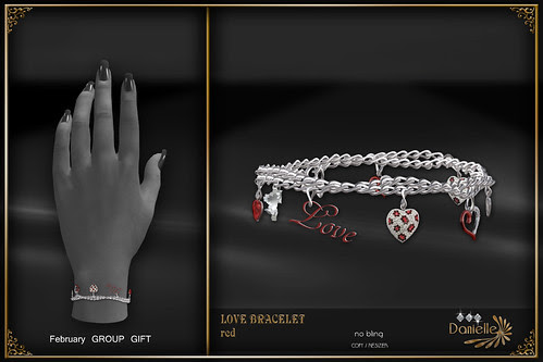 DANIELLE Group Gift Feb 2014 Love Bracelet